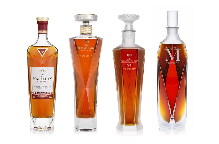 Named for the year the famous distillery was founded, The Macallan's 1824 Masters Series includes four exceptional collectible single malt Scotch whiskies.