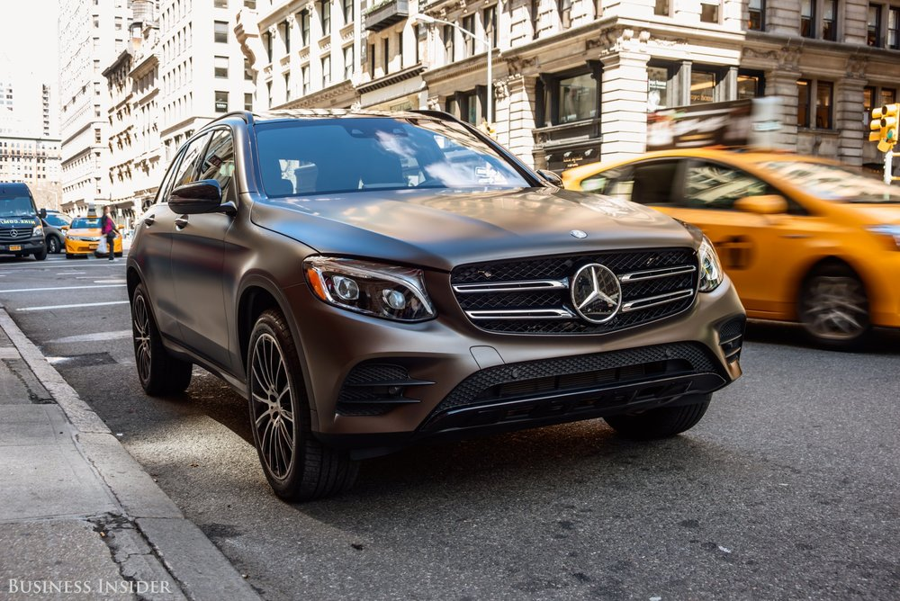 Mercedes-Benz GLC. Hollis Johnson