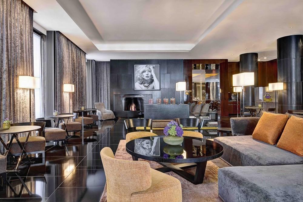 Lobby at Bulgari Hotel London (photo credit: Bulgari Hotel)