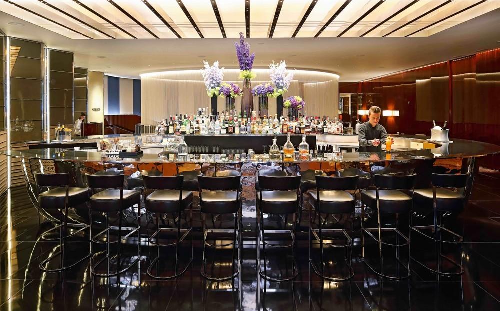 """""""Il Bar"""" at Bulgari Hotel London (photo credit: Bulgari Hotel)"""
