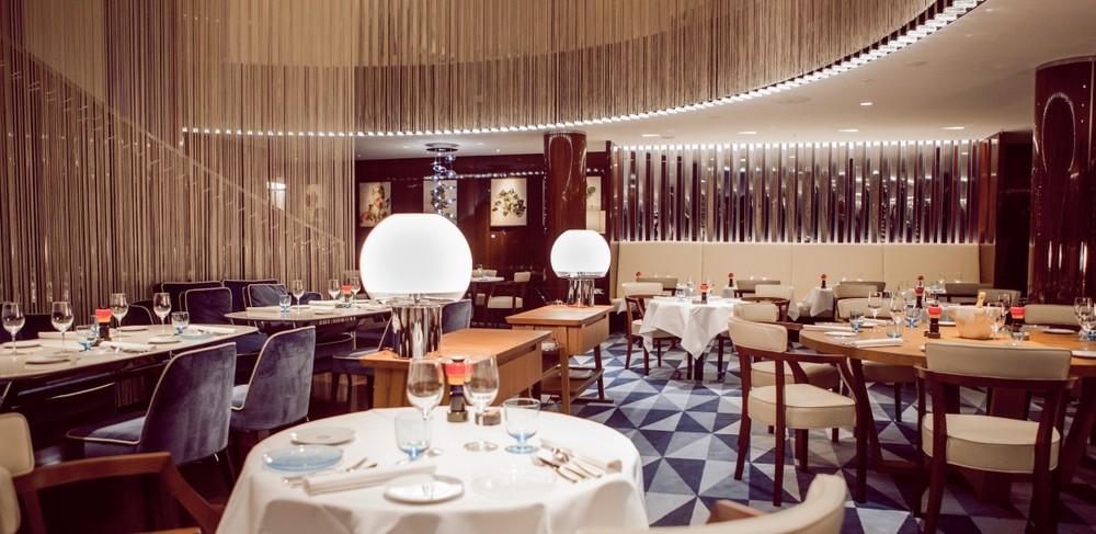 "Mediterranean restaurant ""Rivea"" at Bulgari Hotel London (photo credit: Bulgari Hotel)"