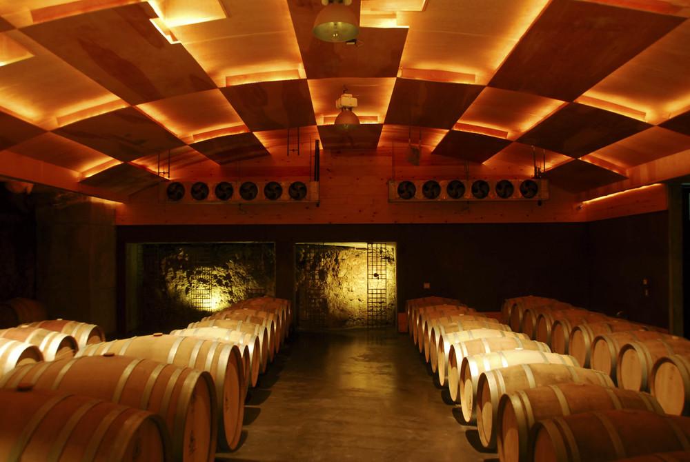 In the cellar at La Lomita Source: La Lomita