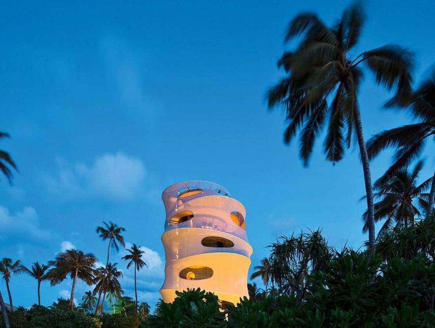 Velaa private island tower