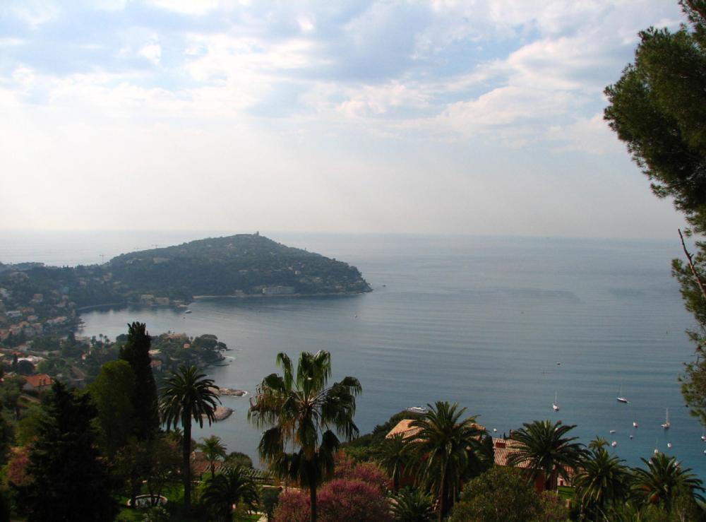 A view from Cap Ferrat Photo: Wikipedia