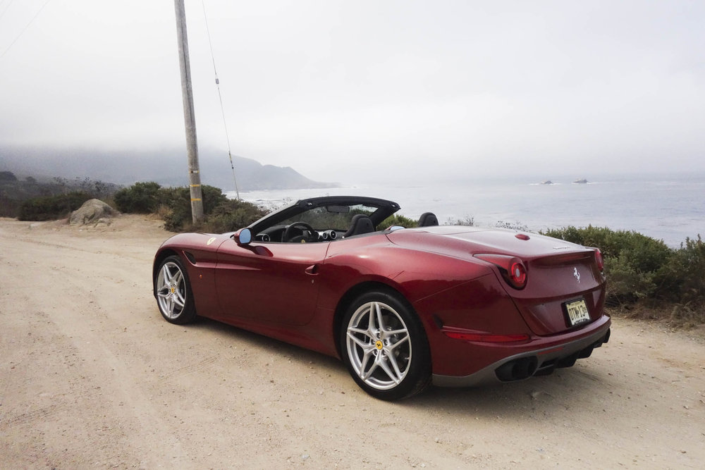 The trunk in the Ferrari California T HS is very small, especially when the top is down.  Photographer: Hannah Elliott/Bloomberg