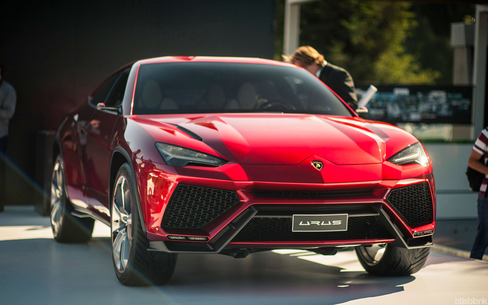 The Lamborghini Urus will be the first modern SUV from the 53-year-old Italian brand. Photographer: Otis Blank/Flickr