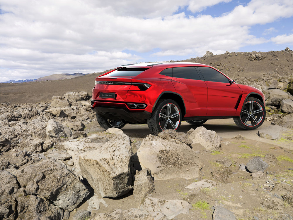 The Urus is set to arrive by 2018. Source: Lamborghini