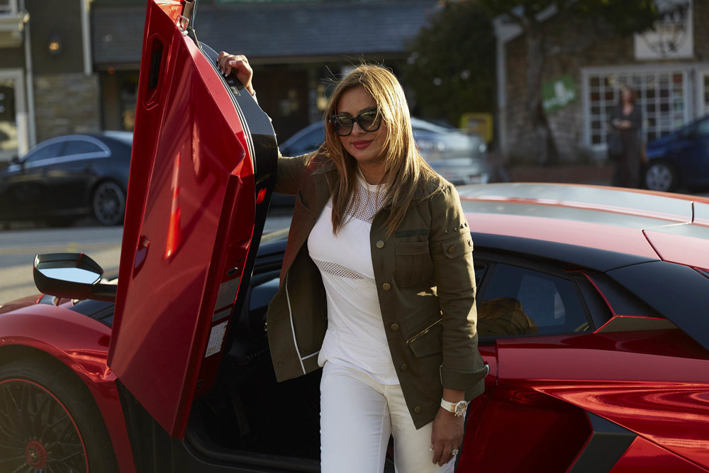 Women make up 5 percent of Lamborghini buyers worldwide.  Photographer: Aaron Wojack