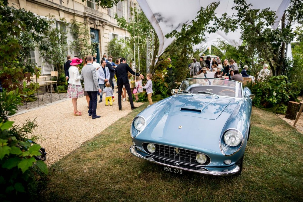 Private VIP Richard Miles venue during Concours Art & Elegance Richard Mille 2016 at Chantilly on September 4th 2016 – Photo Alexis Goure / DPPI