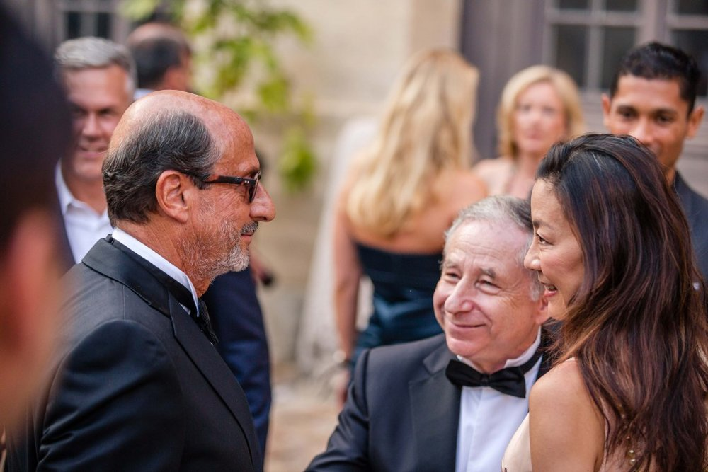 Richard Mille with Jean Todt, Cocktail during Concours Art & Elegance Richard Mille 2016 at Chantilly on September 4th 2016 – Photo Alexis Goure / DPPI