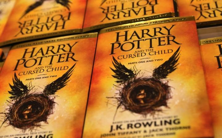 The script of Harry Potter and the Cursed Child was recently released Credit: Daniel Leal-Olivas /AFP / Getty