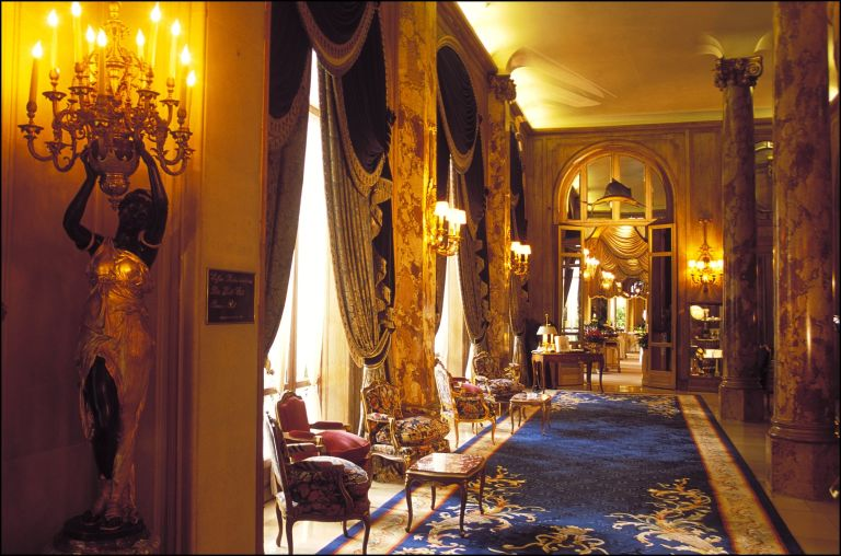 Inside the Ritz
