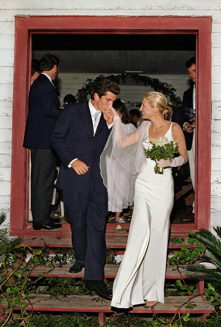 Carolyn Bessette and John F. Kennedy Jr. were married in a secret ceremony on Cumberland Island, off the coast of Georgia, on September 21, 1996. Denis Reggie