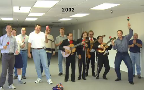 SpaceX's offices when it launched in 2002 Credit: SpaceX/YouTube