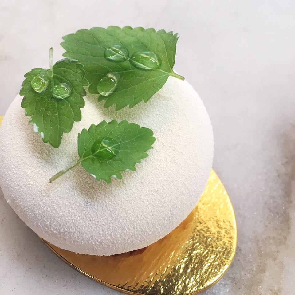 After the Rain Mousse Cake – Photo Dominique Ansel