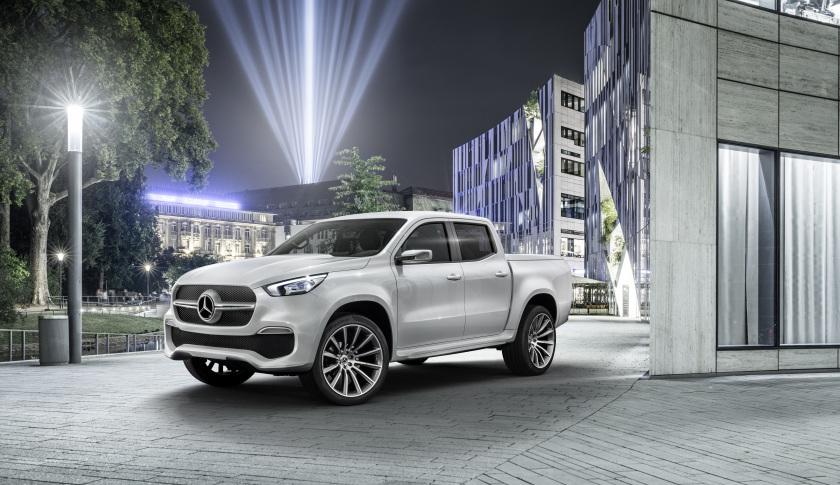 Mercedes-Benz Concept X-CLASS. Daimler AG - Product Communicati Daimler AG