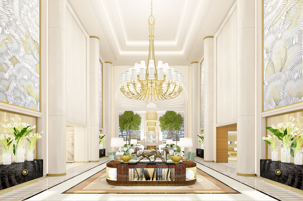 Rendering of Waldorf Astoria Beverly Hills