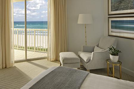 Four Seasons Palm Beach bedroom