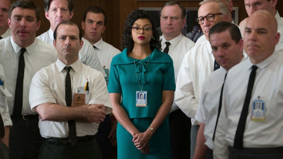 """SPACE HERSTORY: Many don't know that a woman, Katherine Johnson, was an integral part of NASA's space research and Apollo 11 moon landing; in """"Hidden Figures,"""" Henson is fixing that."""