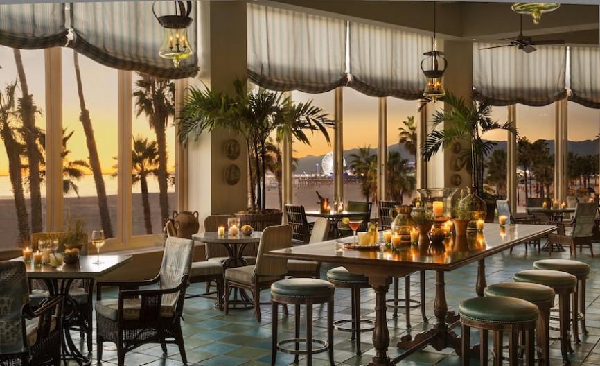 Terrazza at Hotel Casa Del Mar boasts beautiful views and award-worthy cocktails.