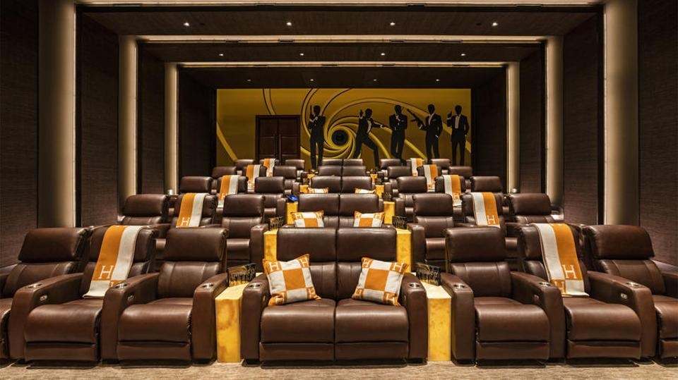 The 4K Dolby Atmos Theater is usually seen in commercial movie theaters instead of private houses.