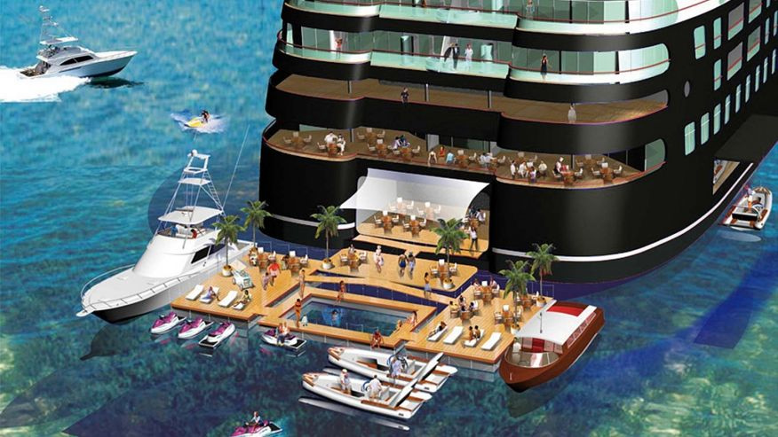 Currently The Largest Yacht In World Is Azzam Which Around 590 Feet Long But When Quintessentially One Debuts Itll Be 720