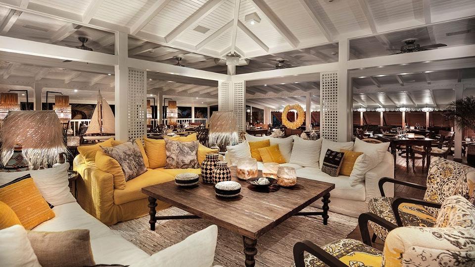 The Main Lounge; Villa Marie St. Barth