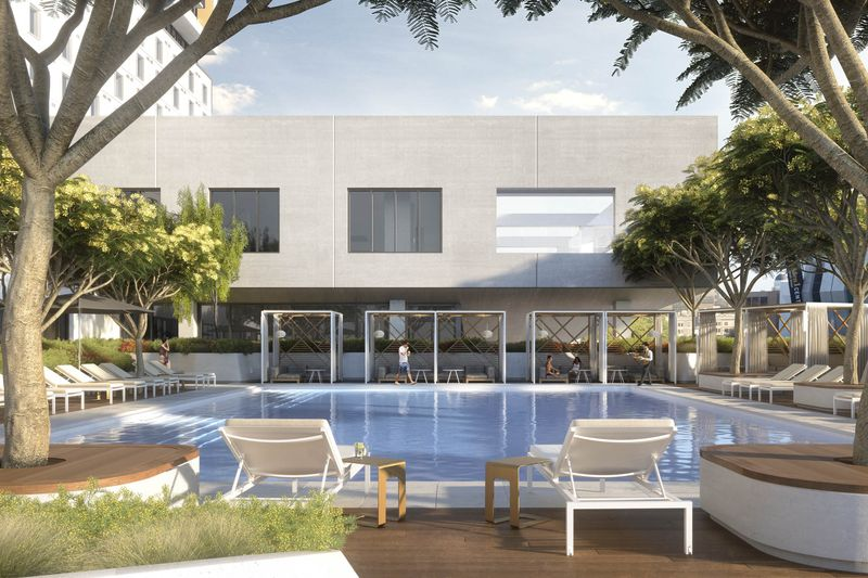 Residents will have access to an outdoor pool. Source: Visualhouse