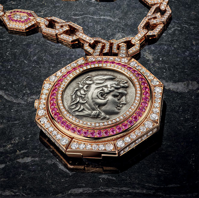 The new Bulgari Monete Pendant Watch