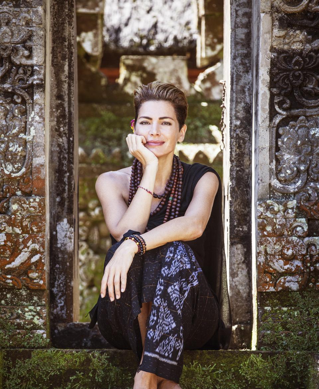 Alexandra Mor in Bali