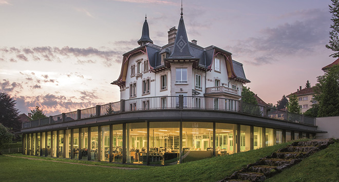 Montblanc's Le Locle Manufacture