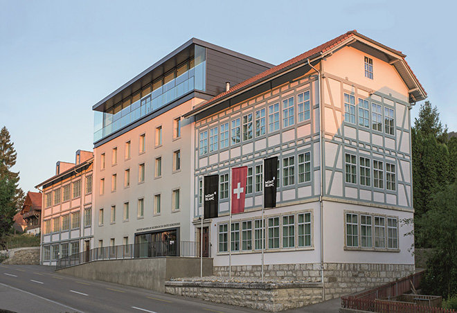 Inside Manufacture-Minerva, now known as Villeret, Home of Montblanc 1858 Collection.