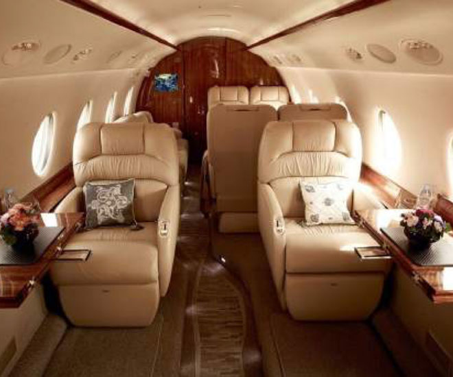 The private jet by Aman