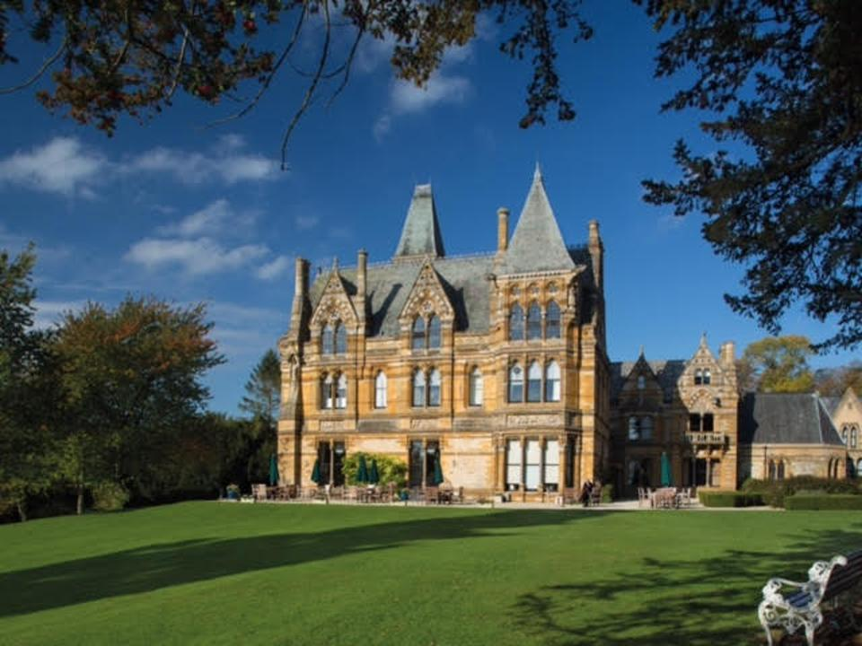 "Booking.com, The classic 1963 horror film ""The Haunting"" was shot here in what, with its' 18th-century gothic mansion look."