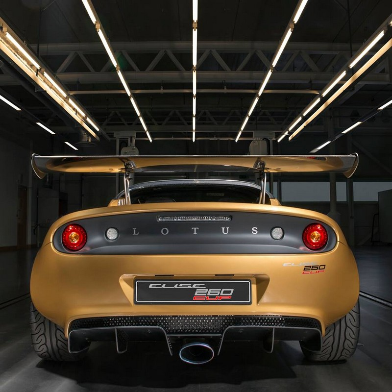 The Race-Car Derived Lotus Elise Cup 260 is a New Ultra-Rare Edition ...