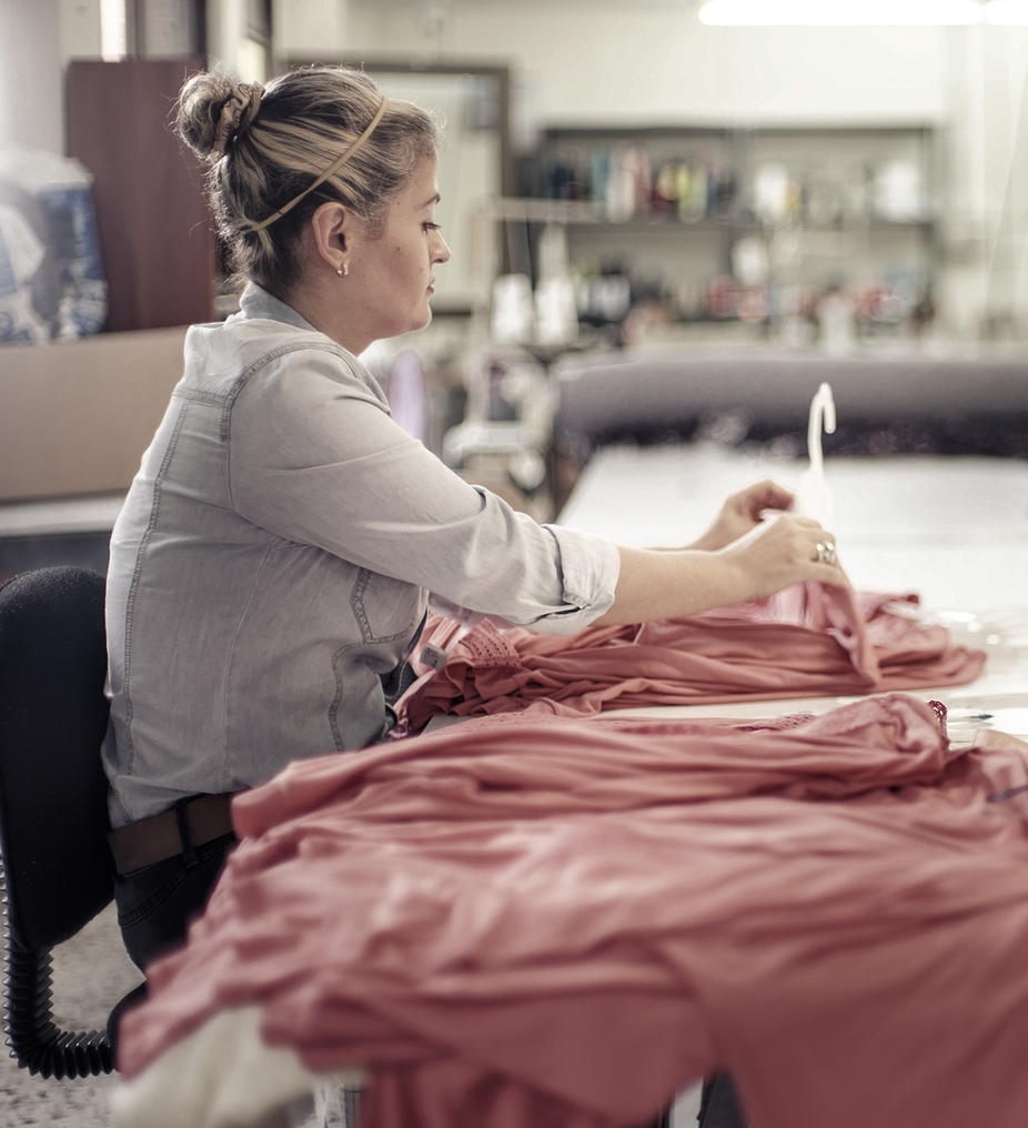 Our portfolio consists of shirts, dresses, pants, pajamas, sportswear and multipurpose wear.