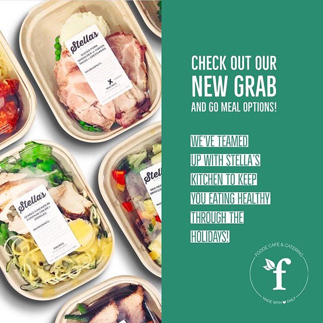 Don't let the holidays ruin your diet goals! Check out our new grab and go meal options from @stellaskitchenco! #whole30 #eatlocal #goals #mealprep #vanwa #foodefresh