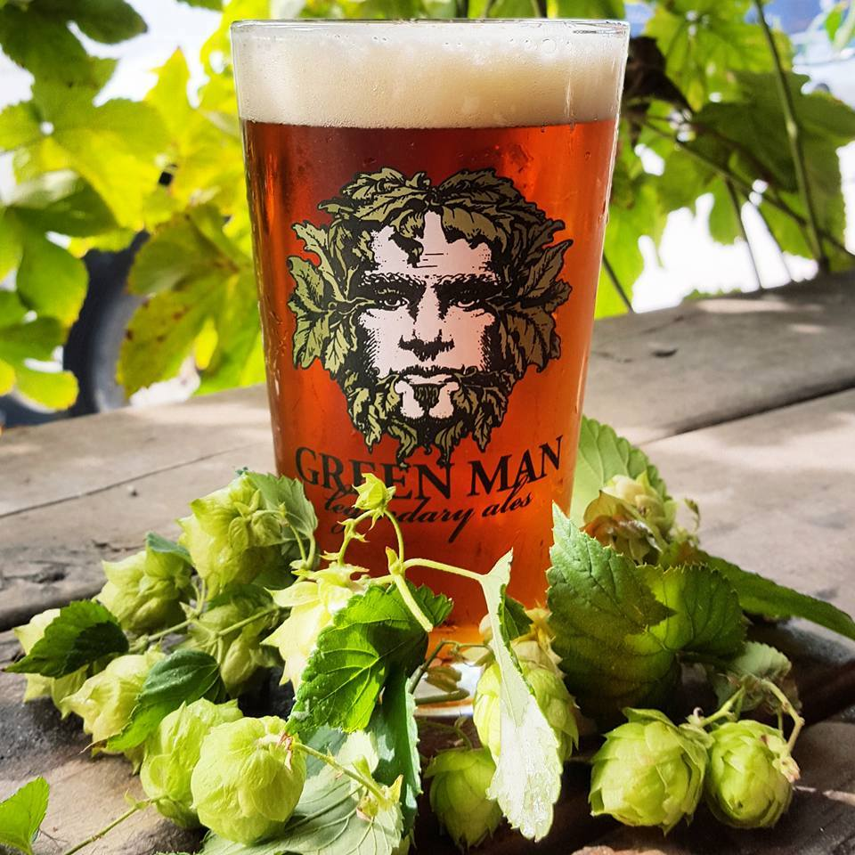 The Weed Wacker IPA is fully outfitted with one pound per barrel of dry-hopped Columbus hops. English malts balance a blast of pine and grapefruit flavors.