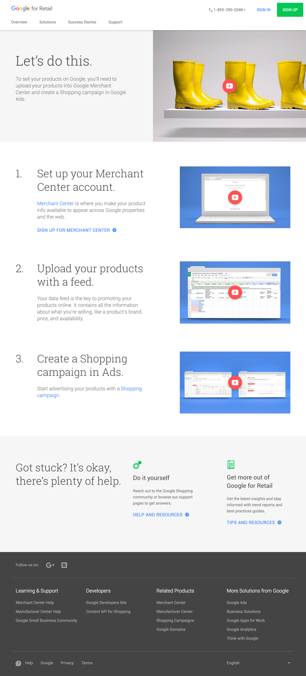 Merchant Center and Shopping Campaigns - How to get started