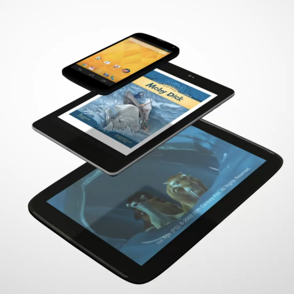 Google Nexus - Global Google Nexus 5, 7, 10 digital campaign. Production, Art Direction and UX Design.