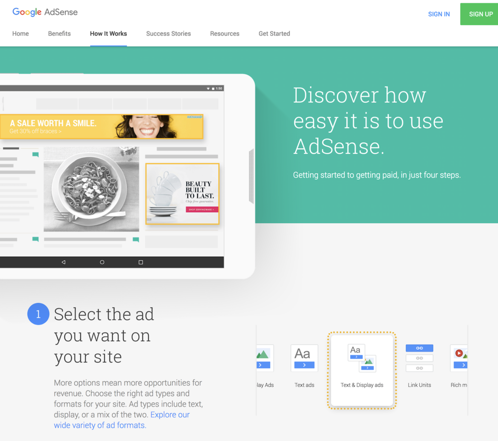 Google Ads marketing sites - Google Ads marketing sites eco-system merges brand and material design creating a new style for web and mobile web. 25 products, over 100 new pages.