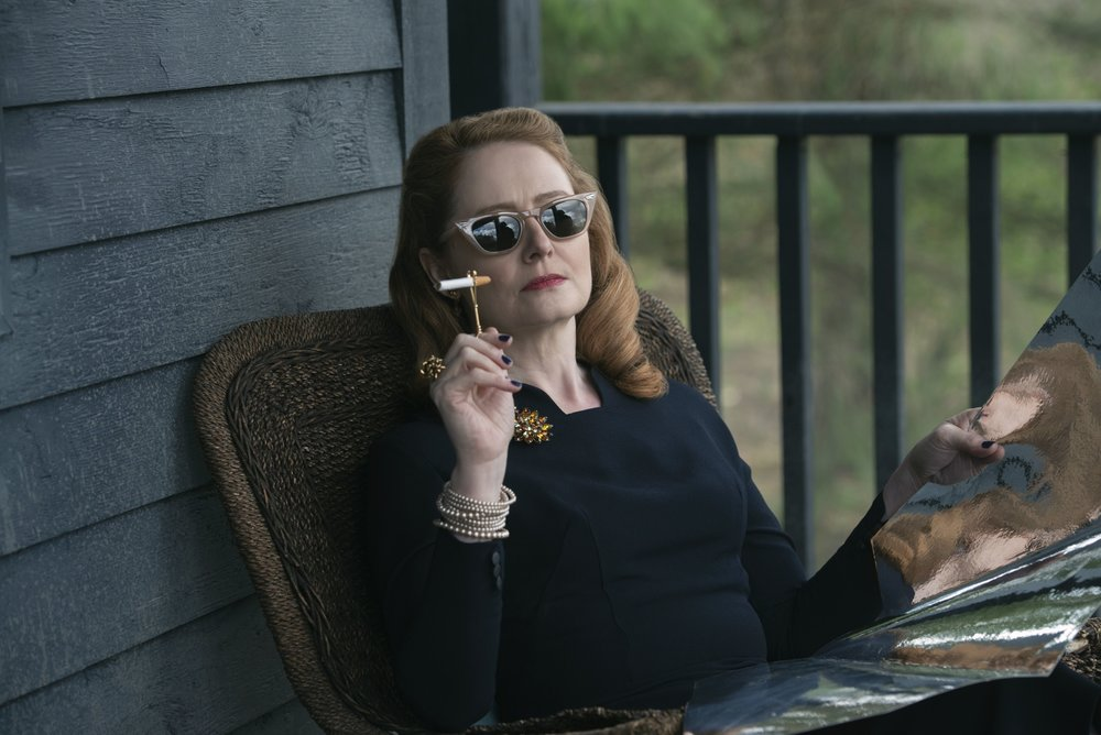"Miranda Otto as Aunt Zelda; chilling in ""Chilling..."""