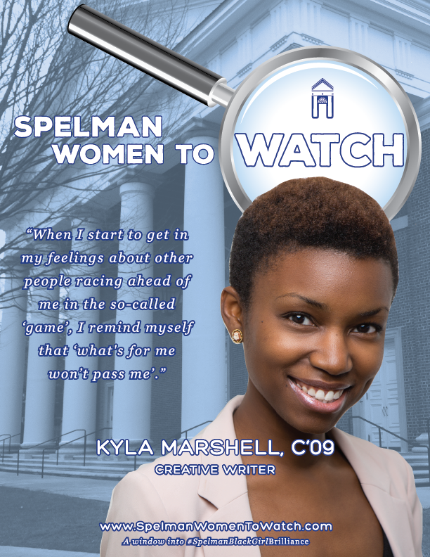 Celebrating all things #SpelmanBlackGirlBrilliance at Spelman Women to Watch. Click for my interview!