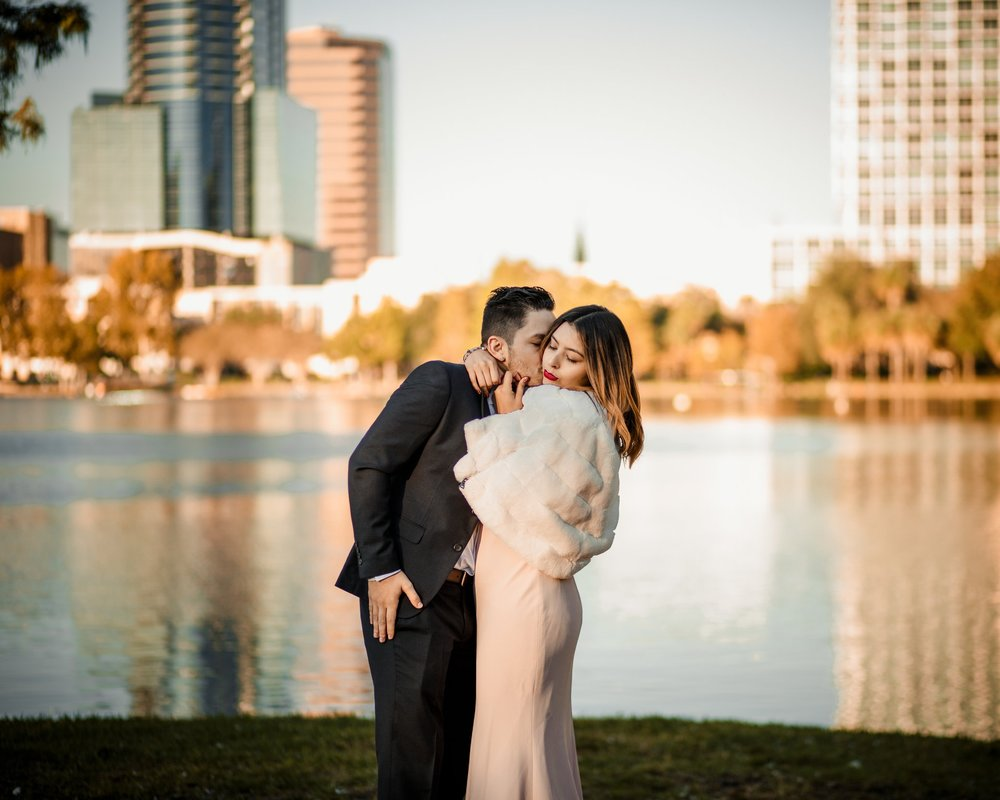 THE BRACERO WEDDING - ceremony at Lake Eola