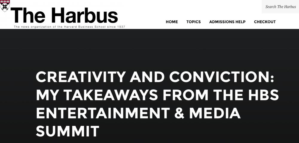 Creativity and Conviction