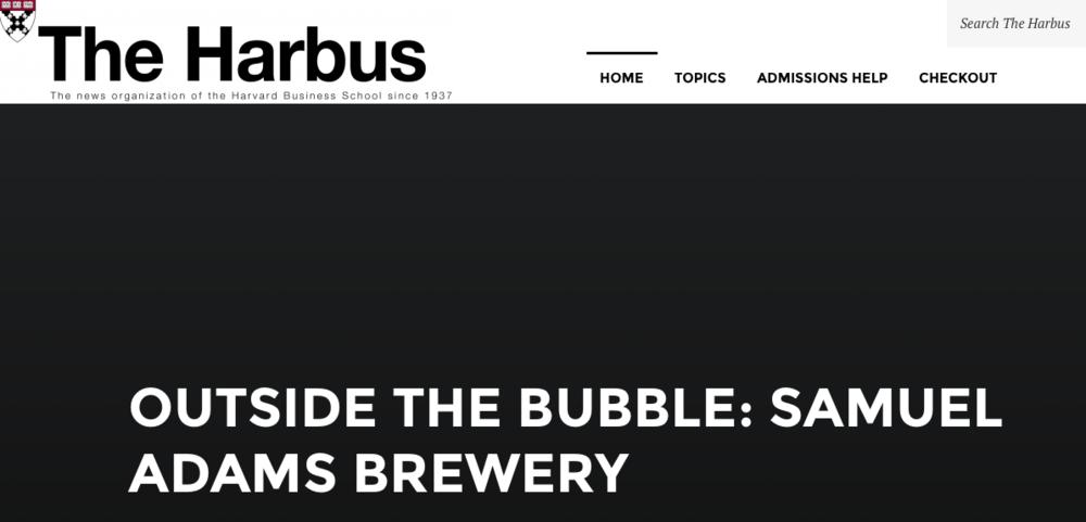 The Sam Adams Brewery