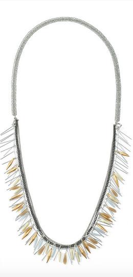 Freya Fringe Necklace - $118
