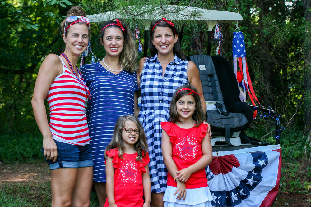 Everyone came in their patriotic wear! I love how festive our community is.