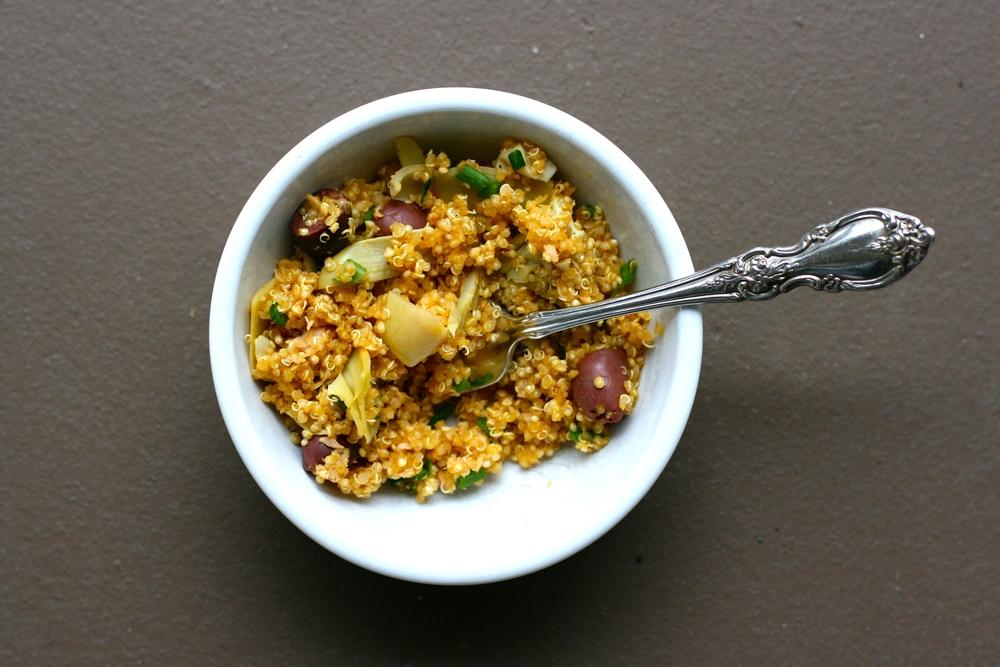 Artichoke & Olive Quinoa
