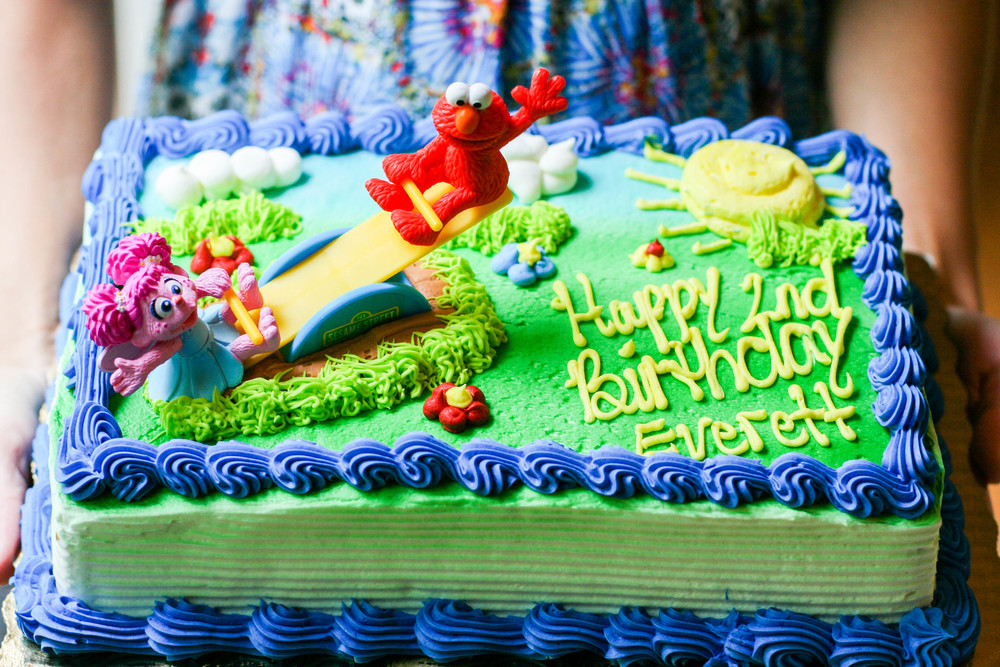 An Elmo Breakfast Birthday Party Oy